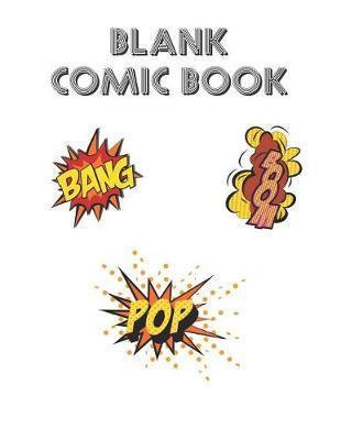 Blank Comic Book by Hb Press