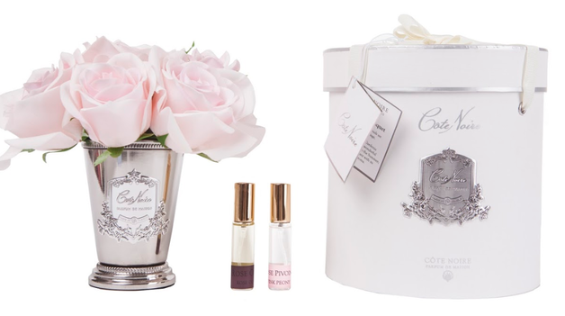 Cote Noire: Seven Rose Silver - French Pink