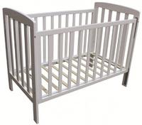 Childcare Bristol Cot (White) image