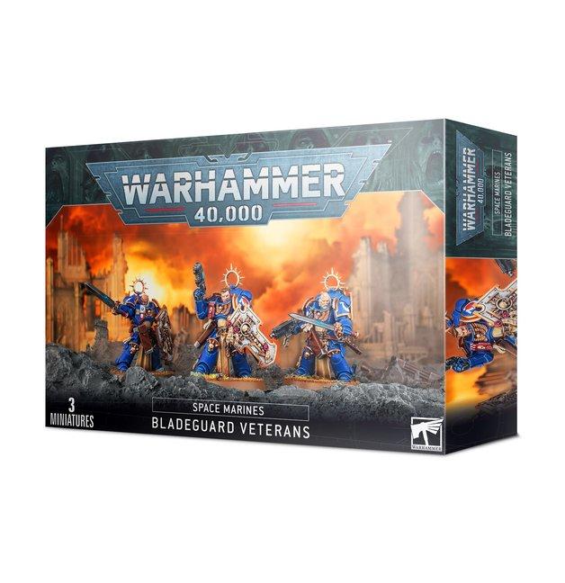 Warhammer 40,000: Space Marine Bladeguard Veterans