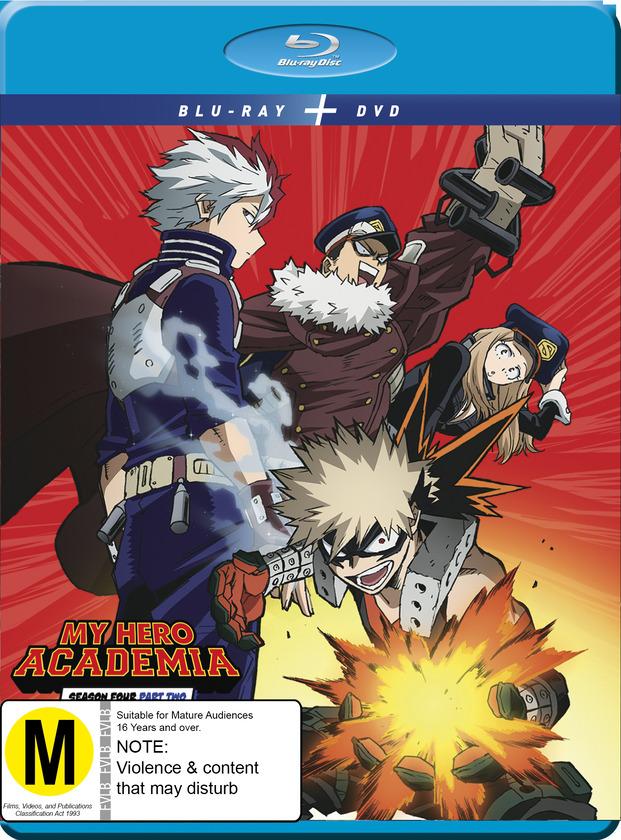 My Hero Academia: Season 4 - Part 2 (DVD / Blu-ray Combo) image