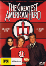 The Greatest American Hero - Season 1 (3 Discs) on DVD