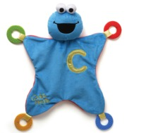 Cookie Monster Activity Blanket