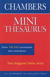 Chambers Mini Thesaurus image