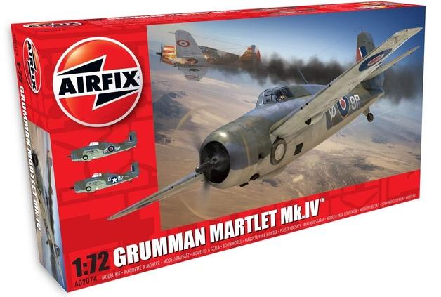 Airfix 1:72 Grumman Martlet Mk.IV - Model Kit