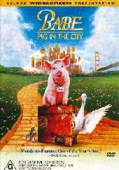Babe: Pig in the City on DVD