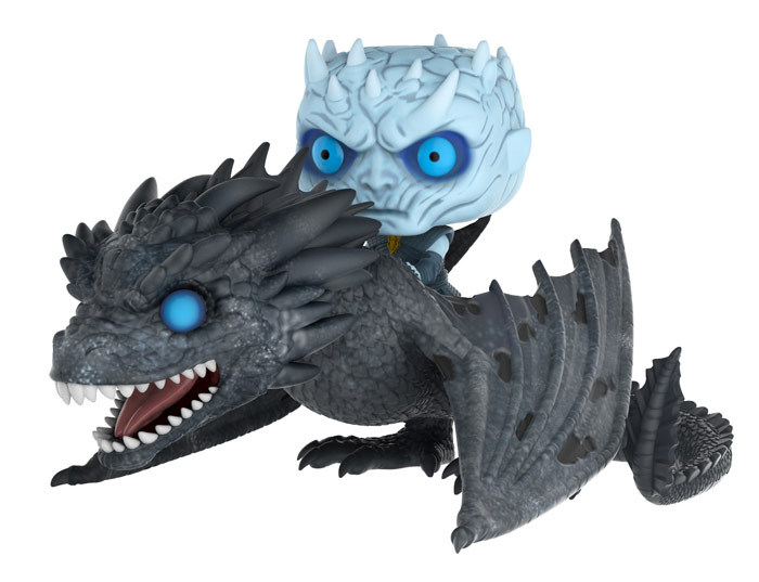 Game of Thrones - Night King & Viserion Pop! Rides Set image