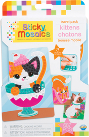 The Orb Factory: Sticky Mosaics Travel Pack - Kittens