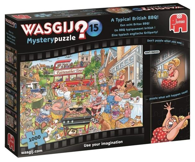 Wasgij: 1000 Piece Puzzle - Originals #15 (A Typical British BBQ!)