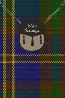 Clan Strange Tartan Journal/Notebook by Clan Strange