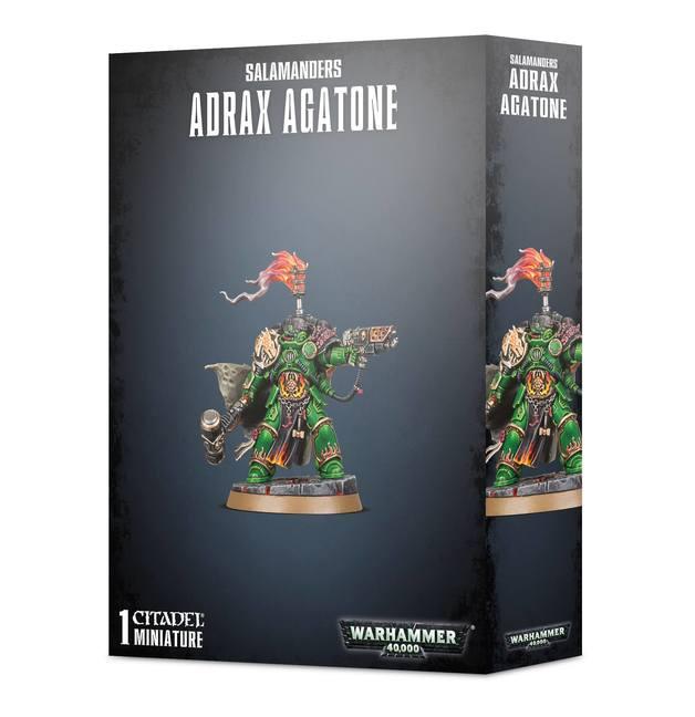 Warhammer 40,000: Salamanders Adrax Agatone