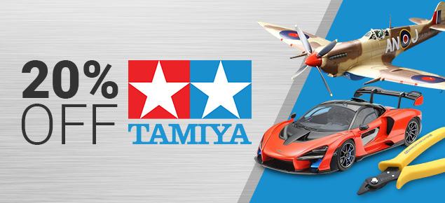20% off Tamiya!