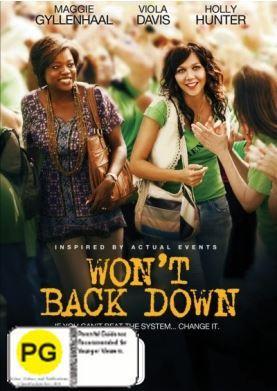 Won't Back Down on DVD
