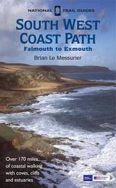 South West Coast Path: Falmouth to Exmouth by Brian Le Messurier image