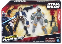 Star Wars: Hero Mashers - Han Solo Vs Boba Fett Battle Pack
