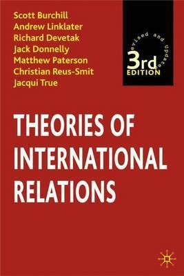 Theories of International Relations by Scott Burchill image