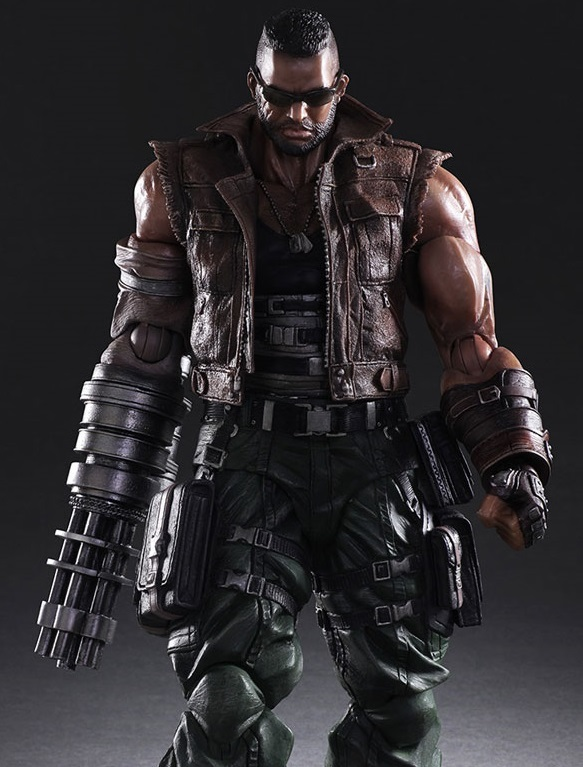 Final Fantasy: Barret Wallace - Play Arts Kai Figure