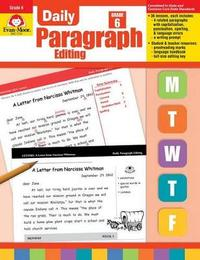 Daily Paragraph Editing Grade 6+ by Evan-Moor Educational Publishers