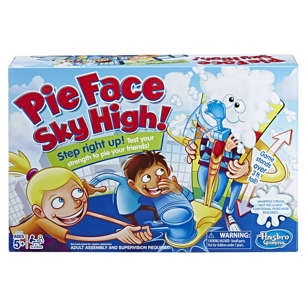 Pie Face Sky High - Party game