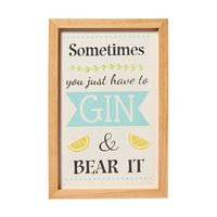 Gin Wall Sign