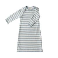 Woolbabe: Merino/Organic Cotton Gown - Tide (0-3 Months)