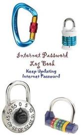 Internet Password Log Book Keep Updating Internet Password by Ruks Rundle