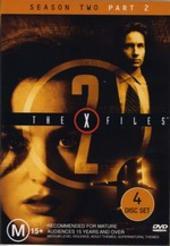 X-Files, The Season 2: Part 2 (4 Disc) on DVD