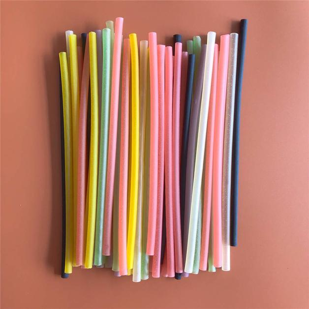 100 Pack Biodegradable Rice Straws