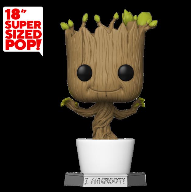 "Guardians of the Galaxy: Groot (Dancing) - 18"" Super-Sized Pop! Vinyl Figure"