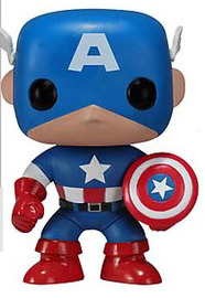 Marvel - Captain America Pop! Vinyl Figure