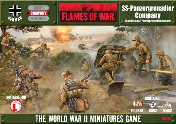 Flames of War - SS-Panzergrenadierkompanie