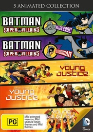 DC Universe and Young Justice on DVD