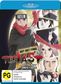 The Last: Naruto The Movie on Blu-ray