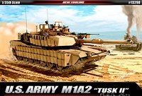 "Academy 1/35 U.S. ARMY M1A2 ""TUSK II"""