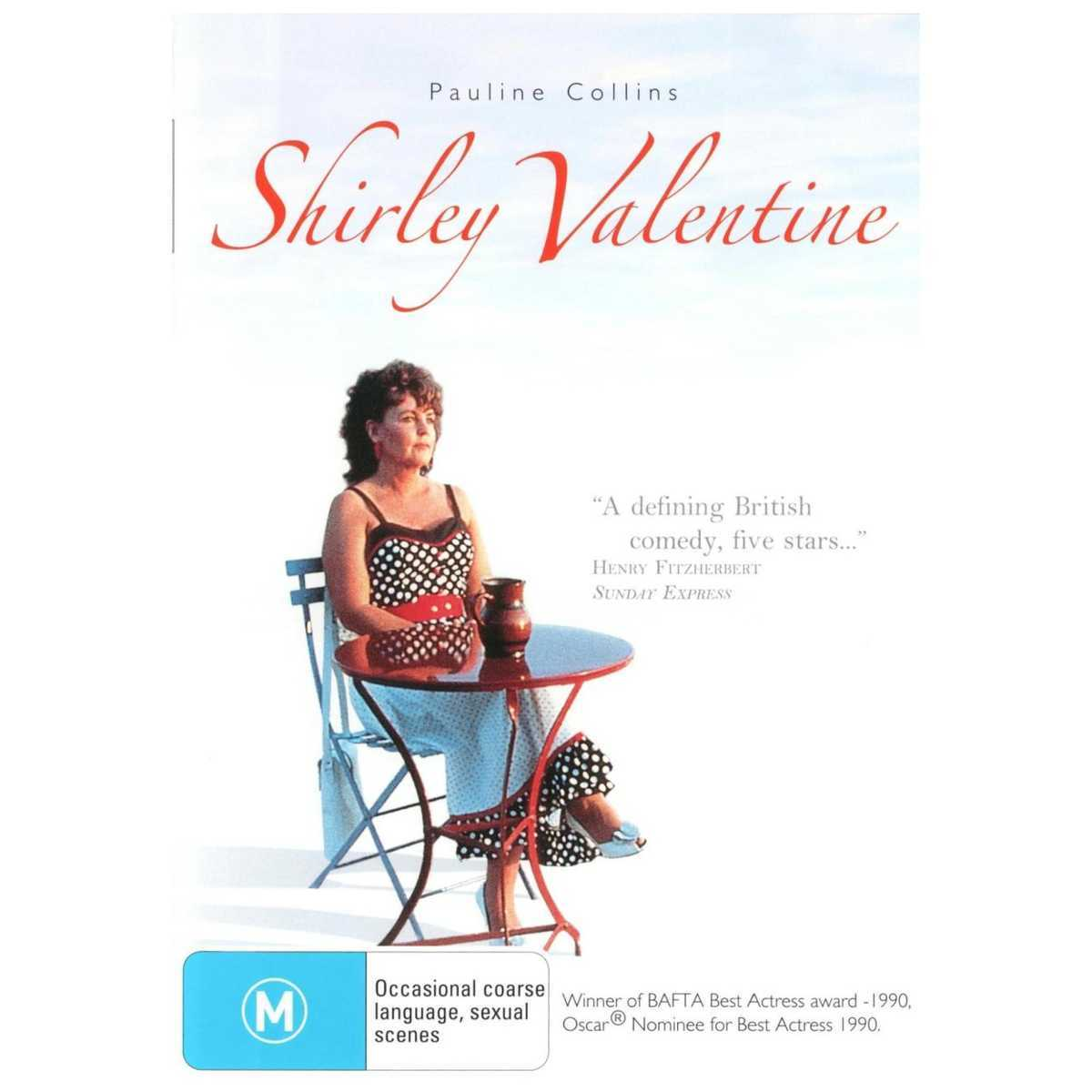 Shirley Valentine on DVD image