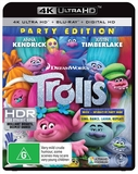 Trolls on Blu-ray, UHD Blu-ray