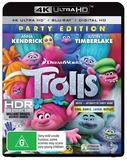 Trolls (4K UHD + Blu-ray) DVD