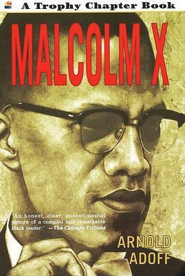 Malcolm X by Arnold Adoff image
