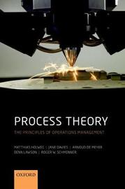 Process Theory by Matthias Holweg