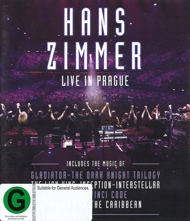 Hans Zimmer: Live in Prague on Blu-ray