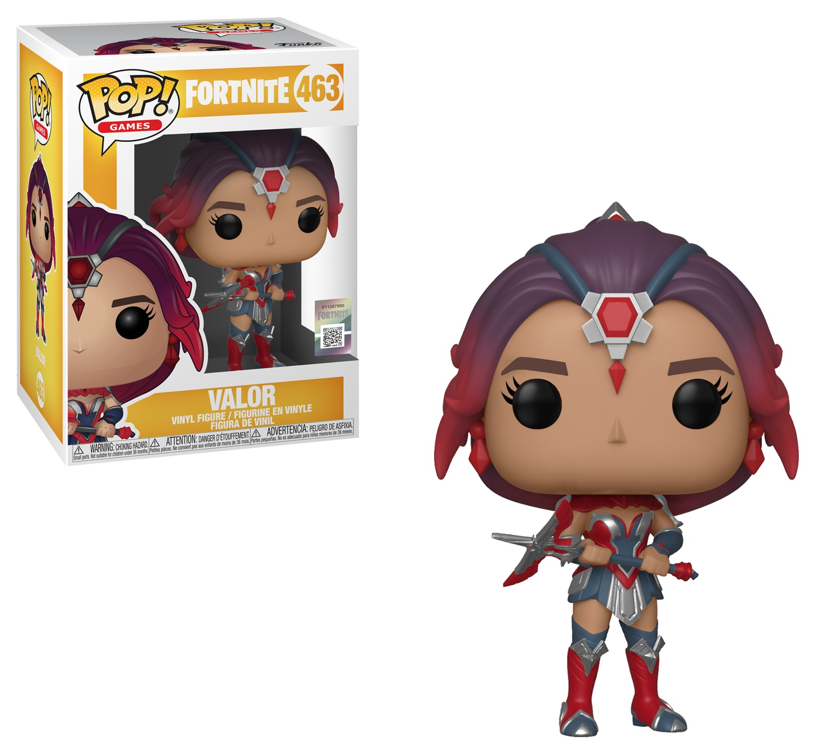 Valor - Pop! Vinyl Figure image