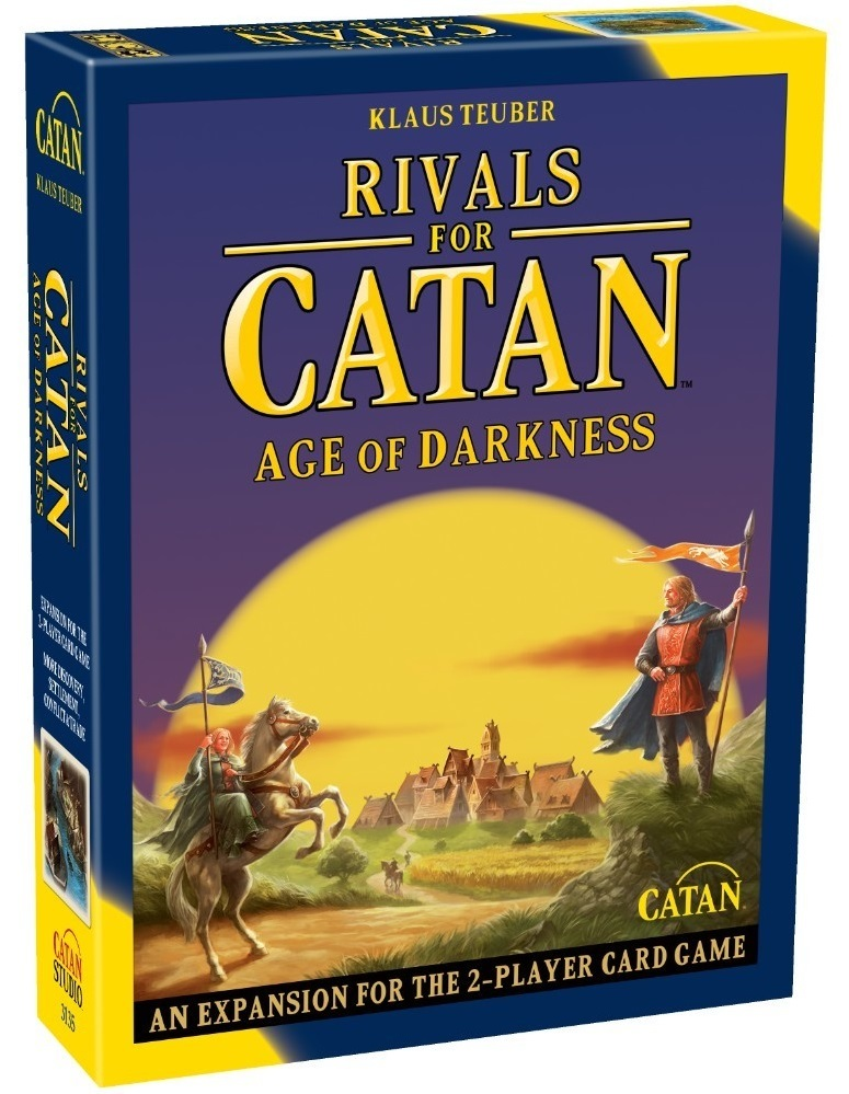 Rivals of Catan: Age Of Darkness - 2nd Edition Expansion image