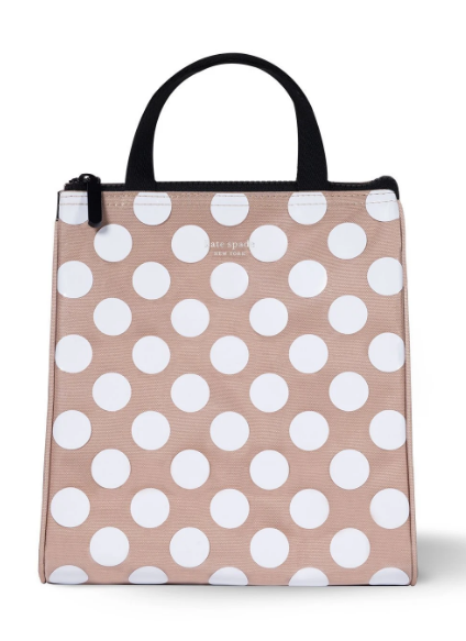 Kate Spade: Lunch Bag - (Jumbo Dot)