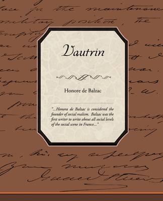 Vautrin by Honore de Balzac image