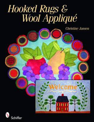 Hooked Rugs & Wool Applique by Christine Jansen image