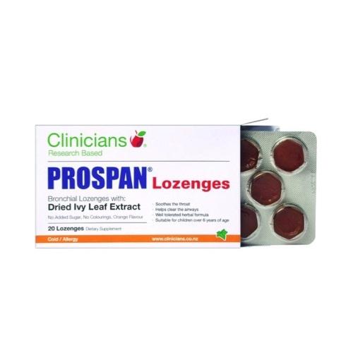 Clinicians Prospan Lozenges (20pack) image
