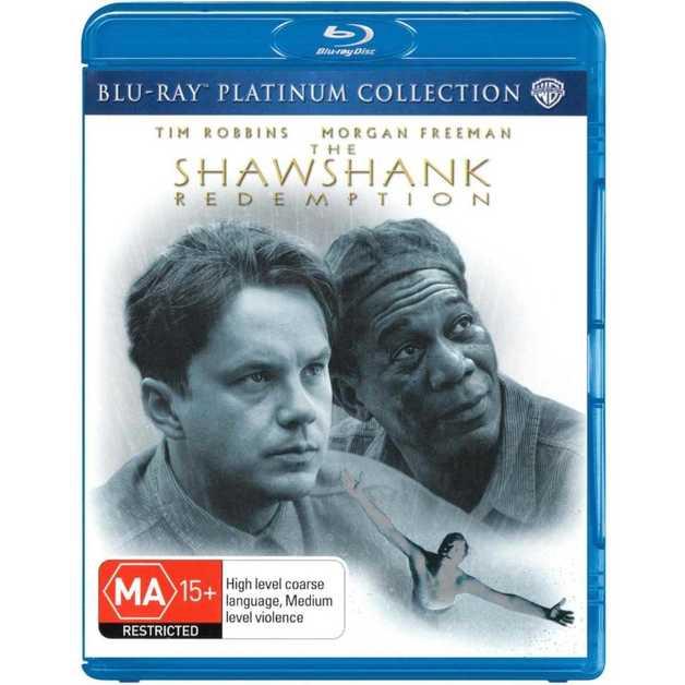 The Shawshank Redemption - Platinum Collection on Blu-ray