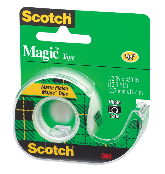 Scotch Magic Tape Dispenser (12.7 mm x 11.4 m)