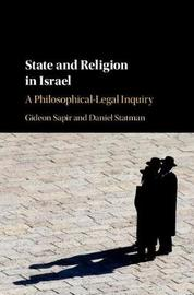 State and Religion in Israel by Gideon Sapir