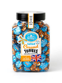 Walkers Nonsuch Salted Caramel Toffees Jar 1.25kg